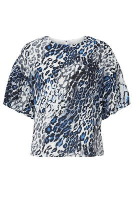 Leopard Printed Top by Slate & Willow