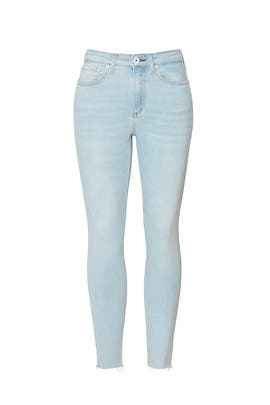 Nina High Rise Ankle Skinny Jeans by rag & bone JEAN