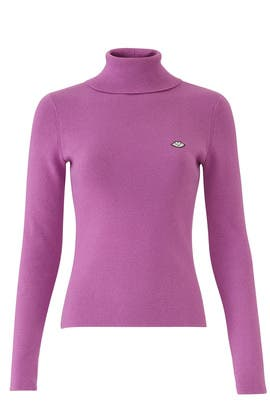 Purple Bisou Sweater by See by Chloe