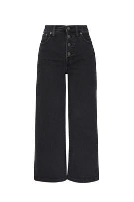 Lunar Wide Leg Crop Jeans by Madewell