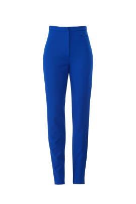 Cobalt Skinny Pants by Milly