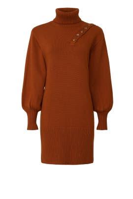 Button Shoulder Sweater Dress by Marissa Webb Collective