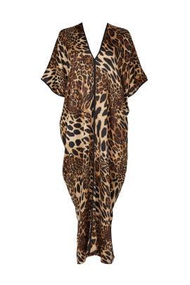 Luxe Leopard Caftan by Natori