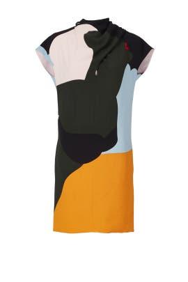 Mod Splotch Dress by Nina Ricci