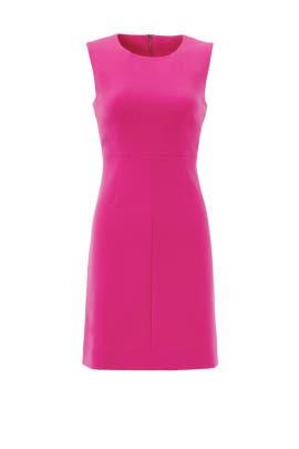 Hot Pink Carrie Dress By Diane Von Furstenberg