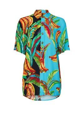 Mixed Banana Boy Shirt by FARM Rio