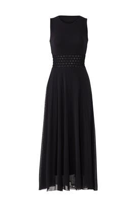 Black Cutout Midi by Fuzzi