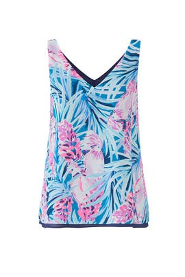 Florin Sleeveless Top by Lilly Pulitzer