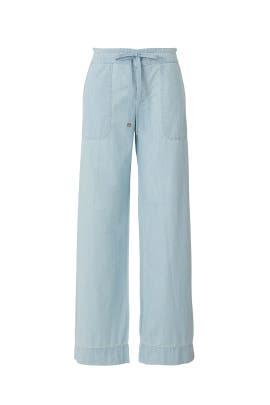 Chambray Pants by Lauren Ralph Lauren