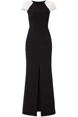 Black Kaley Gown by Parker