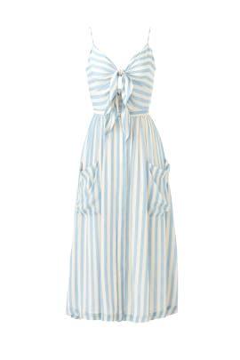 Striped Derinda Dress by Rebecca Minkoff