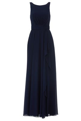 Navy Rory Gown by AMSALE
