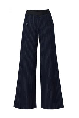 Pinstripe Wideleg Pants by Bailey 44