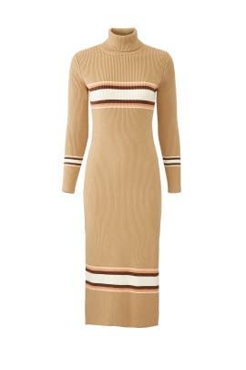 Sport Stripe Midi Dress by Free People