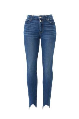 Transcend Vintage Hoxton Ankle Jeans by PAIGE