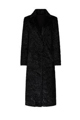 Stardust Velvet Coat by Unreal Fur