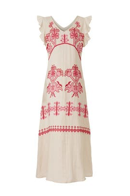 Mod Embroidered Dress by Area Stars