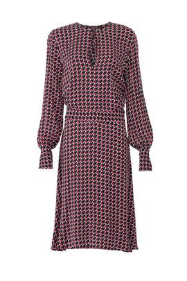 Houndstooth Magnolia Dress by Equipment