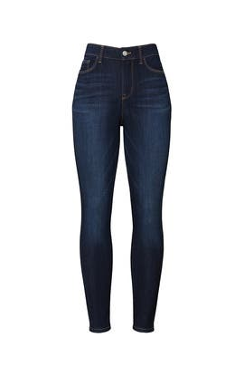 Abigail Wash Social Standard High Rise Skinny Jeans by Sanctuary / DENIM