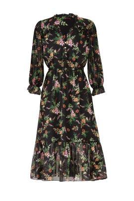 Floral Danna Dress by Shoshanna