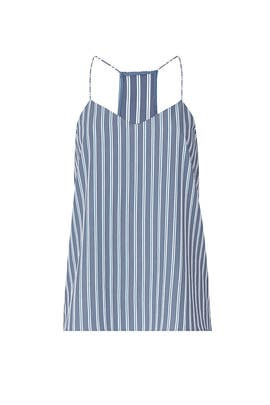 Striped Classic Cami by Tibi