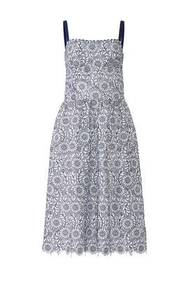 Lace Square Neck Dress by Draper James