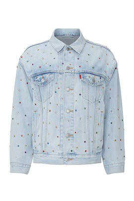 Studded Dad Trucker Jacket by Levi's
