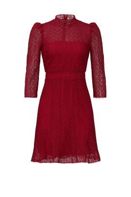 Puff Shoulder Dress by ML Monique Lhuillier