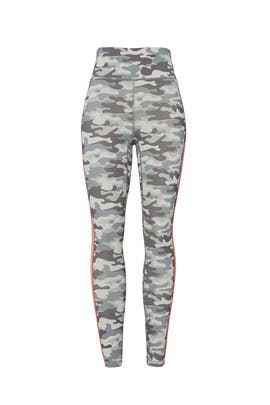 Camo High Waisted Legging by Spiritual Gangster