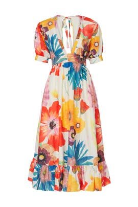 Multi Floral Greta Dress by CAROLINA K