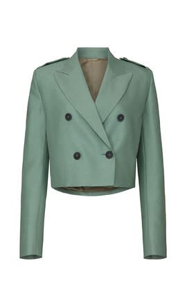 Cropped Blazer by Helmut Lang