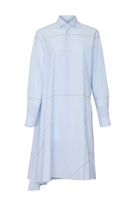 Light Blue Shirt Dress by Maison Margiela