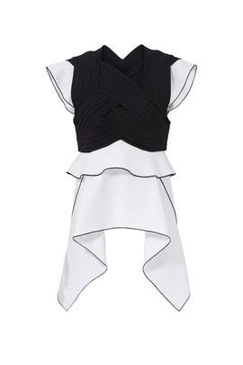 Pleated Ruffle Top by Proenza Schouler