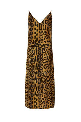 Leopard Cami Dress by Adam Lippes Collective