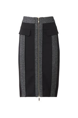 80ea75fb0 Two Tone Zip Skirt by Badgley Mischka for $55 | Rent the Runway