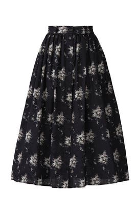 Olivio Floral Midi Skirt by Brock Collection