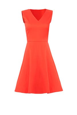 Red Love Circle Dress by Draper James