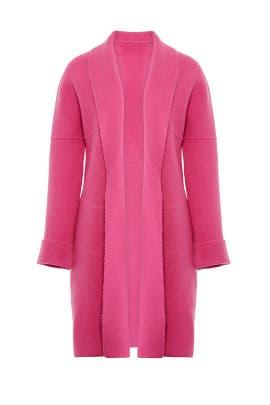 Fuchsia Olivine Coat by ELLIATT