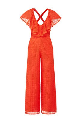 Poppy Sunrise Jumpsuit by Temperley London