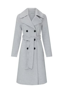 Grey Stark Coat by Wish
