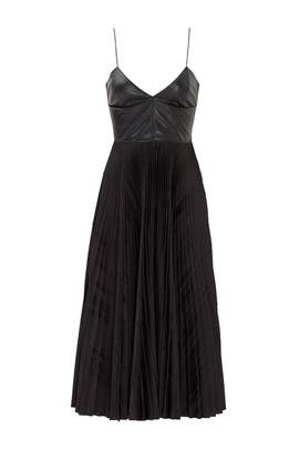 Boucher Pleated Dress by Cedric Charlier
