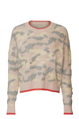 Bush Camo Crewneck Sweater by Central Park West
