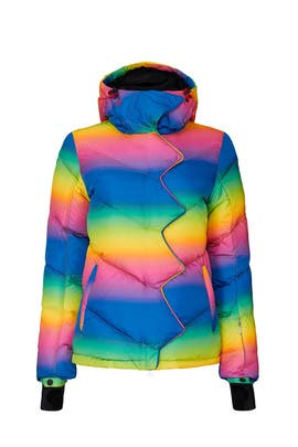 Rainbow Chevron Super Day Jacket by Perfect Moment