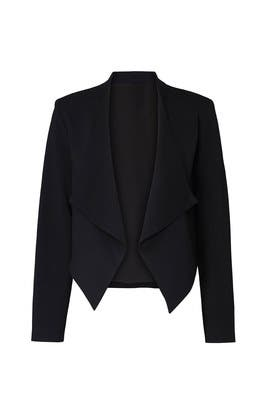 Classic Draped Maternity Blazer by soon maternity