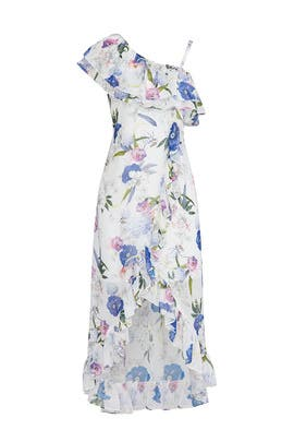 Ruffled Floral Dress by Slate & Willow