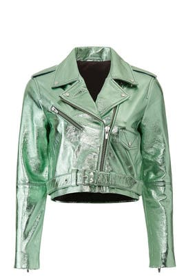 Baby Jane Leather Jacket by VEDA