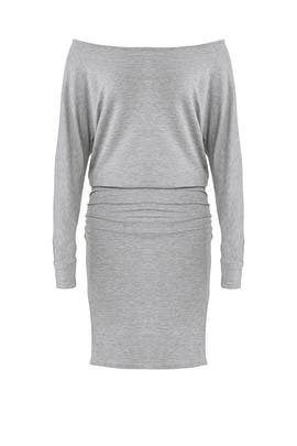 Grey Supersoft Dress by MONROW