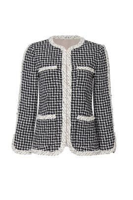 Graphic Tweed Jacket by Rebecca Taylor