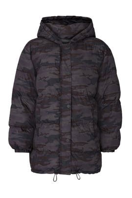 Black Camo Puffer by Sanctuary