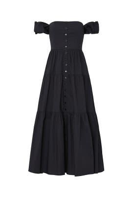 Elio Midi Dress by Staud